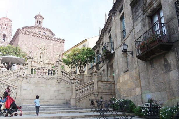 Barcelone-Espagne-poble espanyol (1)
