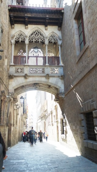 Barcelone-Espagne-pont-suspendu