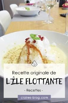 Recette originale de l'île flottante #atelier #recette #cuisine #oeuf #recetteoriginale #dessert #ileflottante