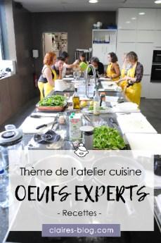 Atelier cuisine œufs experts - Les recettes #atelier #recette #cuisine #oeuf