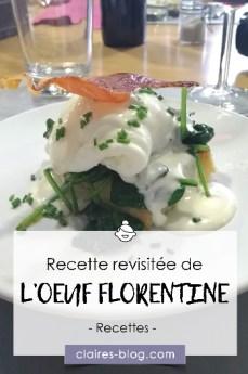Recette de l'œuf florentine revisitée #atelier #recette #cuisine #oeuf #florentine