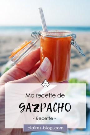 Ma recette de gazpacho