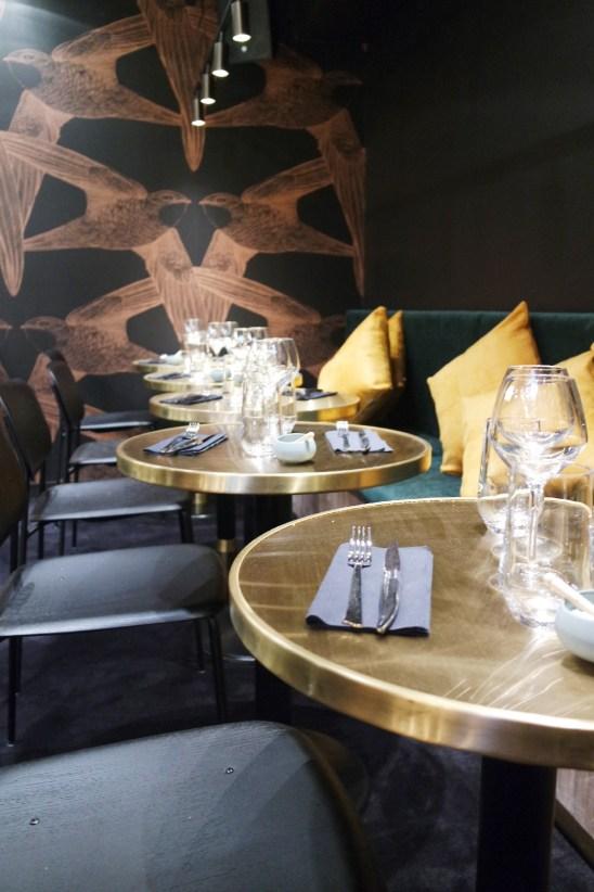 Restaurant le Congrès Rennes décoration