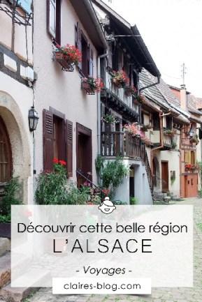 Découvrir cette belle région qu'est l'Alsace #voyage #alsace #france