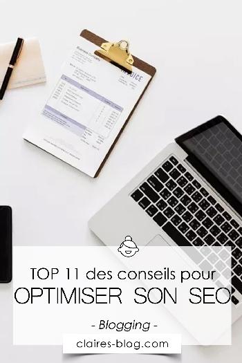 TOP 11 des conseils pour optimiser son SEO #blogging #seo #google #lifestyle