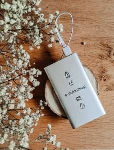 batterie externe personnalisée idées cadeaux
