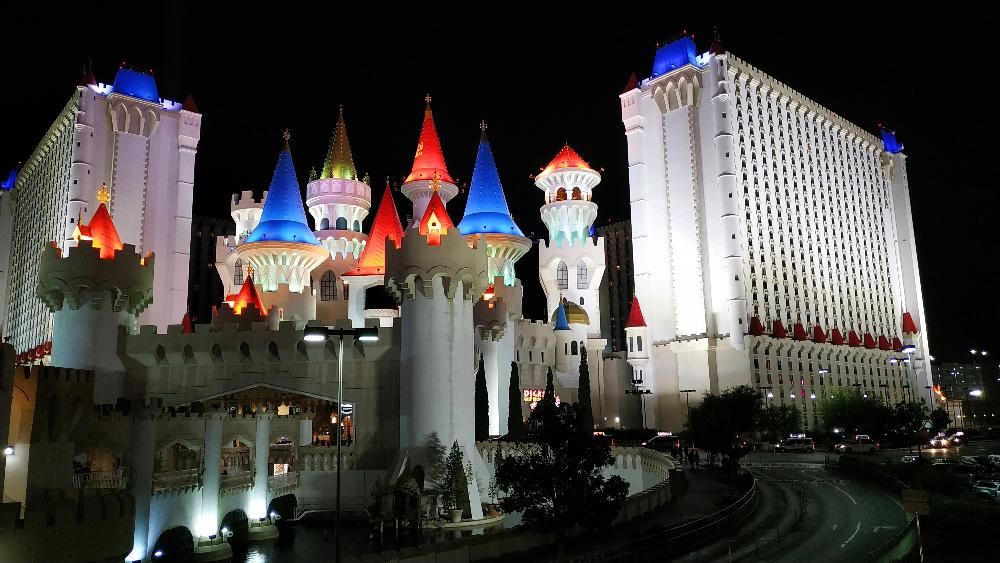 hotel excalibur etats unis las vegas