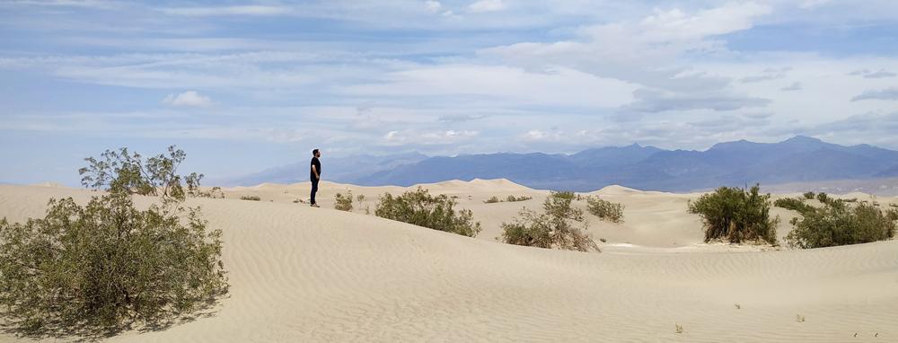 sand mosquite dunes vallée de la mort