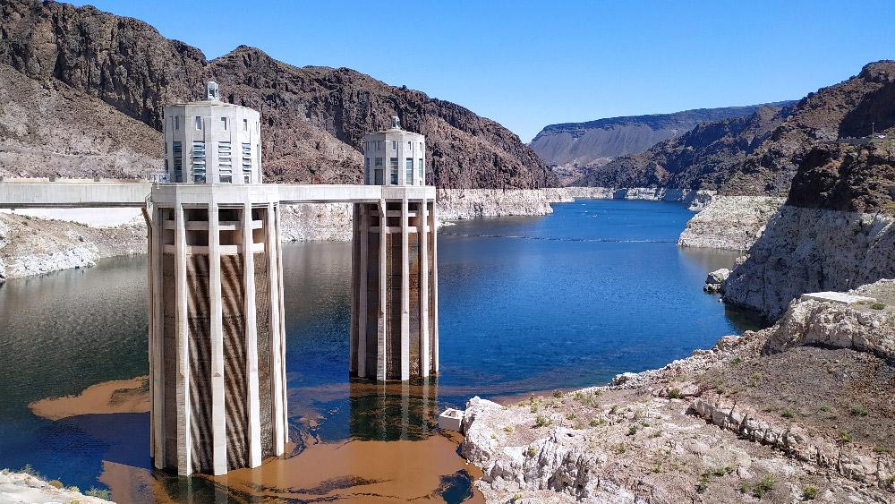 barrage hoover dam etats-unis route 66