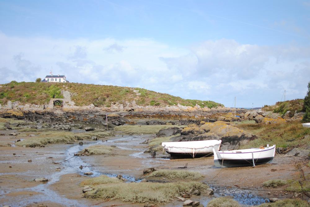 îles chausey granville normandie voyage drone