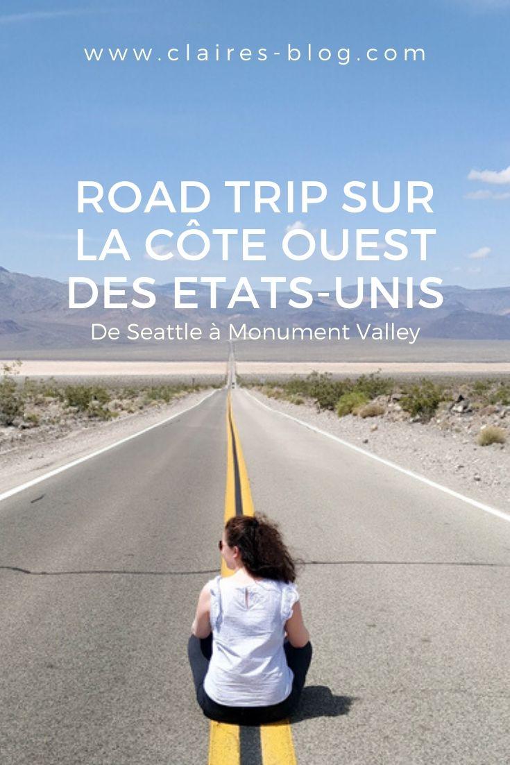 road trip cote ouest etats-unis