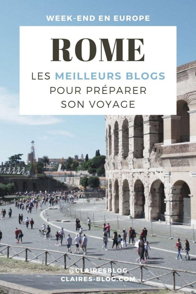 les meilleurs blogs pour préparer son voyage à rome