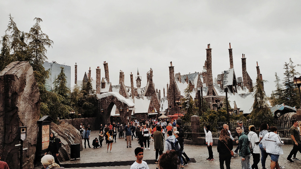 Harry potter attraction universal