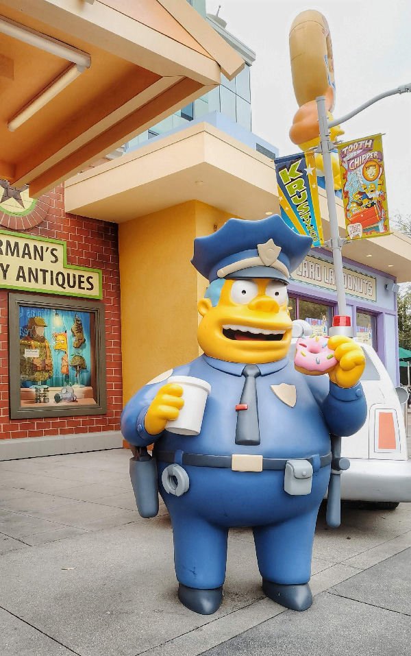 simpsons los angeles universal studio
