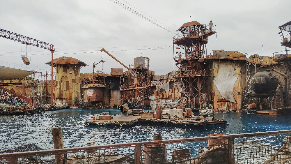 waterworld universal studio los angeles
