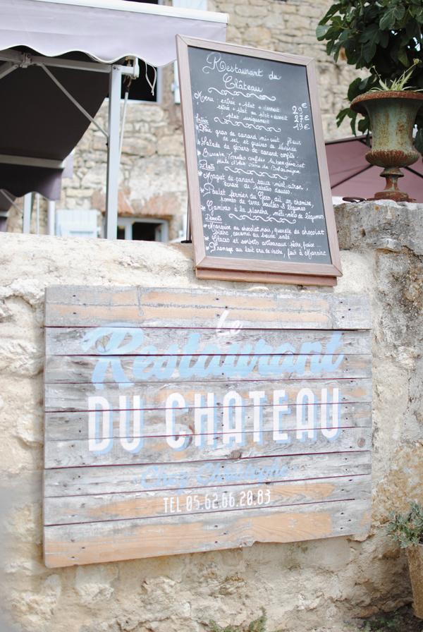 restaurant du chateau de lavardens gascogne