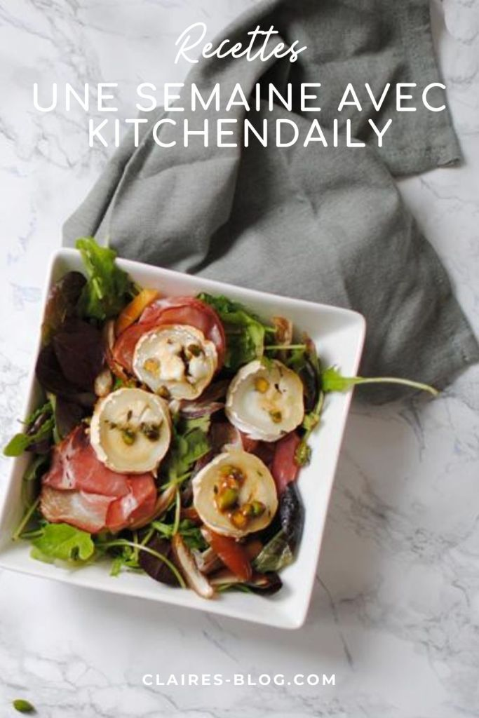 une semaine avec kitchendaily