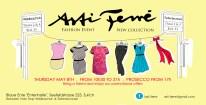 Flyer Asti Ferré Pop up store