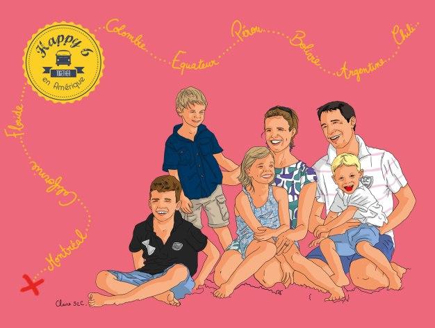 Happy 6 family