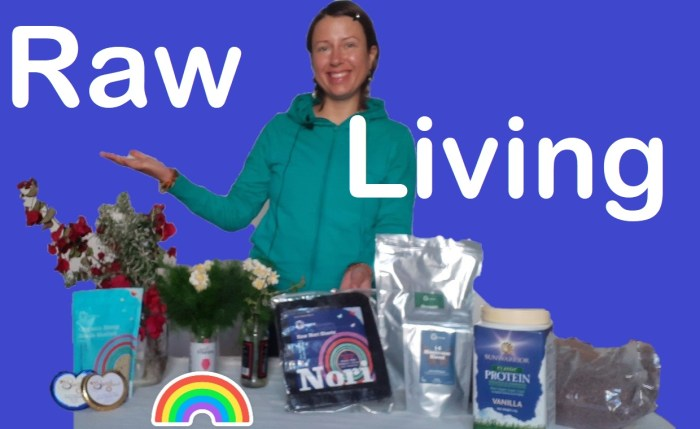 Raw Living #unboxing number 5 or the deliciousness of super foods