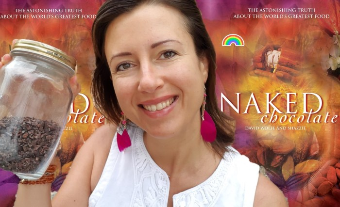 Naked Chocolate #book review #rawcacao for all #chocolate lovers