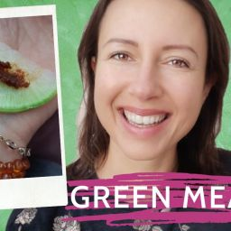 What is green meat radish? #livingfood