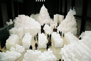 "Rachel Whiteread's ""Embarkment"" at Tate Modern"