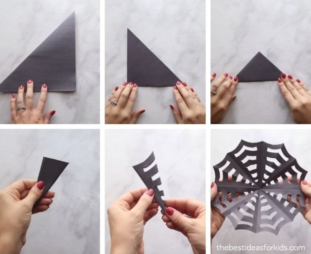 Halloween themed paper crafts
