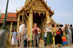 Crowded Grand Palace