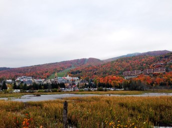 The village of Mont-Tremblant