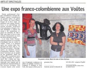 Expo Galerie Les voutes du Puy-Chatel BLOIS