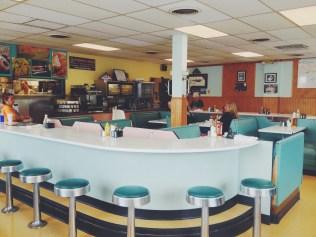 Inside of Harold's Koffee House