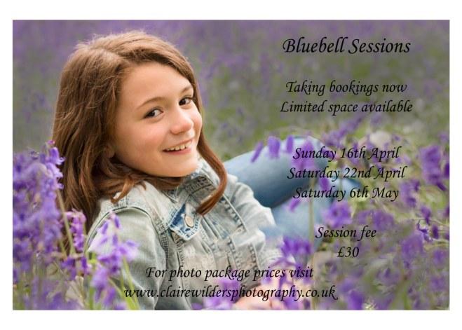Bluebell portrait photography, Horsham, Barns Green, Crawley, Billingshurst