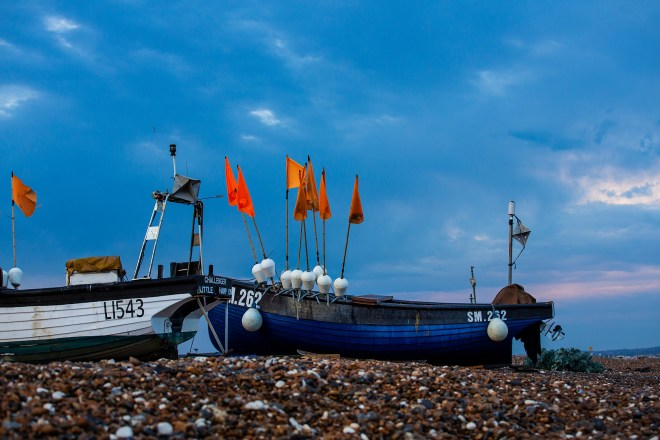 Fishing Boats at Lancing Beach
