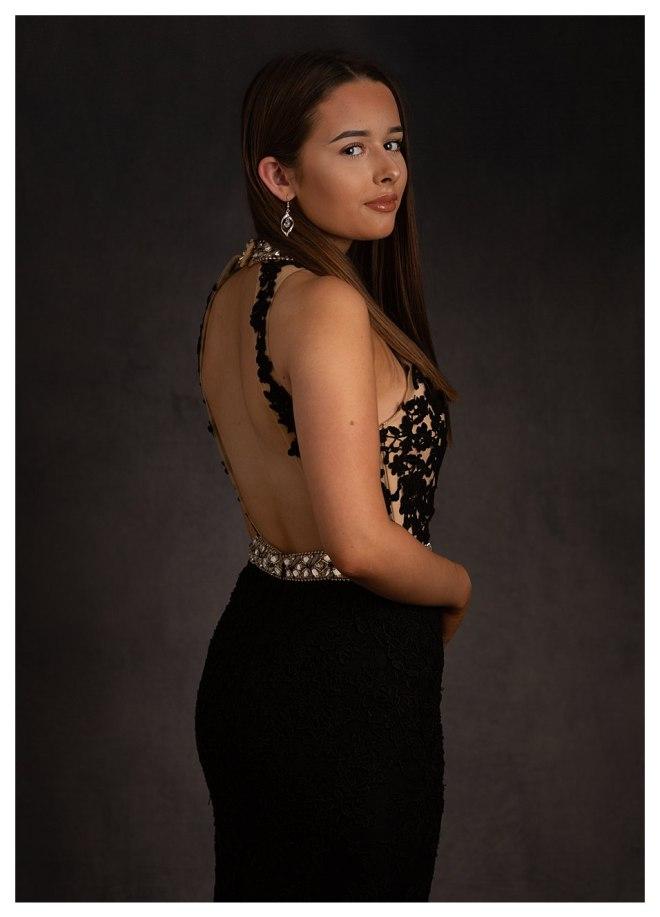 Prom dress, senior photos