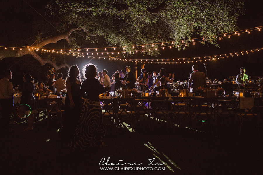 Oak Canyon Ranch Wedding Reception Dancing Party