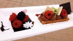 Gevolgd door een overheerlijk dessert!