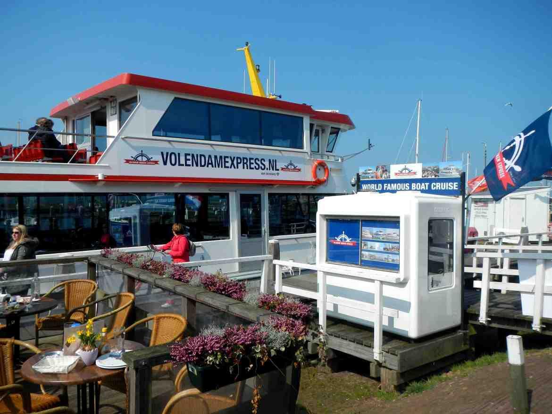 Ferry entre Voldendam et Marken - Amsterdam - Claironyva