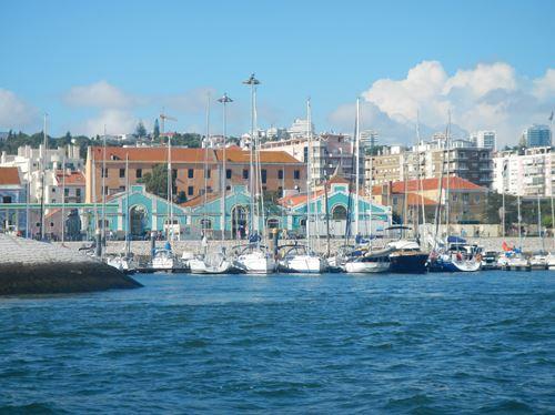 Lisbonne vue du Tage