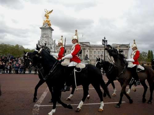 Londres- Relève de la garde
