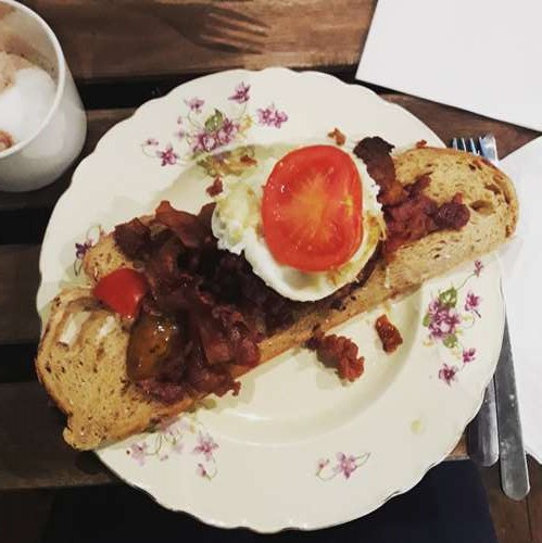 Londres - premier petit déjeuner