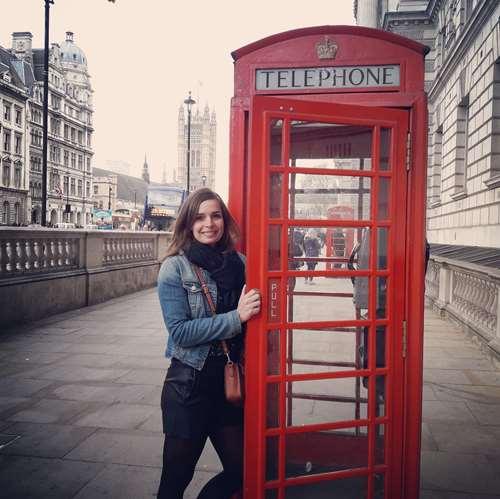 Londres - Cabine téléphonique - Claironyva