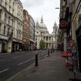 Londres - Sur le chemin de la gare - Cathédrale Saint Paul