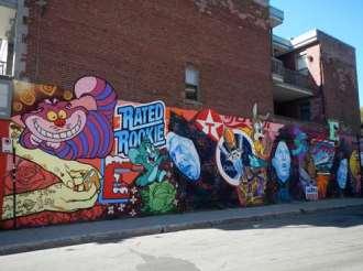 Claironyva Canada Montréal Street Art