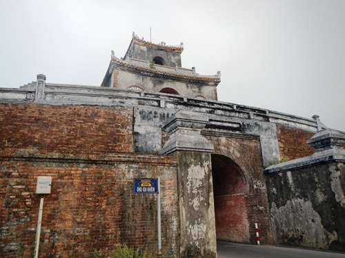 Porte menant à la cité impériale
