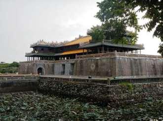Porte Ngo Mon, entrée principale de la cité impériale