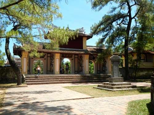 Claironyva Vientam Hue Pagode de Thien Mu, Hue