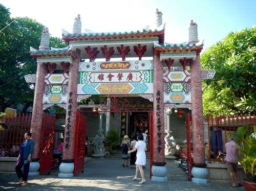 Un temple à Hoi An - Vietnam