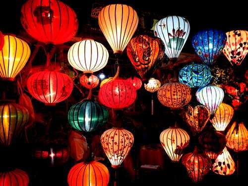 Lanternes à Hoi An