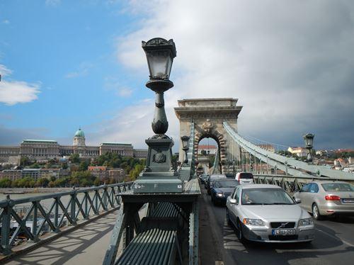 Budapest le pont des chaînes